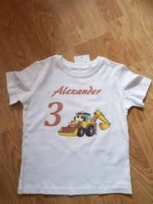 Detské oblečenie - Narodeninové tričko - 9645071_