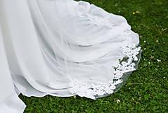 Šaty - Svadobné šaty s výšivkou - 9647795_