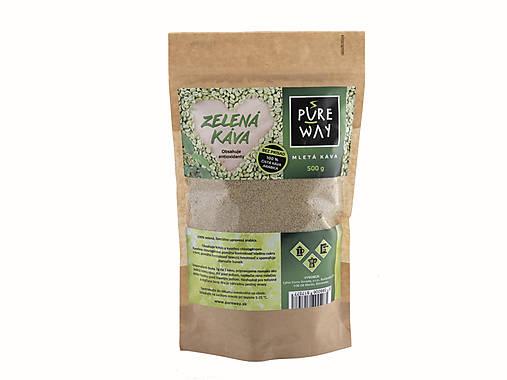 Zelená káva čistá, 500 g