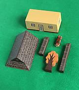 Hračky - Miniatúrna drevenica z Vlkolínca - 9645613_