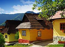 Hračky - Miniatúrna drevenica z Vlkolínca - 9645646_
