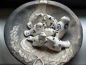 Dekorácie - Keramické ptactvo Colors III. - 9646480_