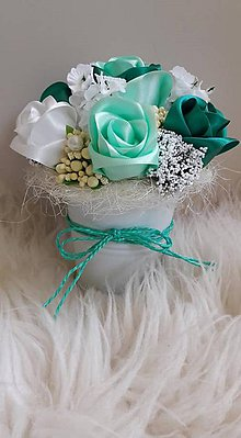 Drobnosti - Vedierko plné ruží :-) - 9646633_