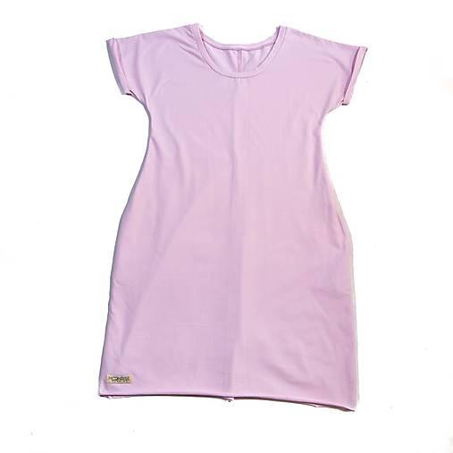 d84e63cb9 Dámske šaty oversize - light pink (S) / MoonriseFashion - SAShE.sk ...