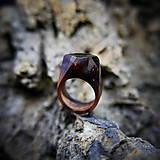 Prstene - Drevený prsteň: V divokej víchrici - 9645865_