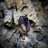 Prstene - Drevený prsteň: V divokej víchrici - 9645866_