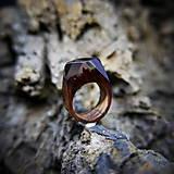 Prstene - Drevený prsteň: V divokej víchrici - 9645869_