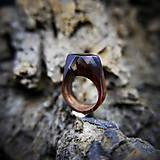 Prstene - Drevený prsteň: V divokej víchrici - 9645870_