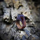 Prstene - Drevený prsteň: V divokej víchrici - 9645871_