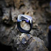 Prstene - Drevený prsteň: Tisíc zrkadiel - 9645963_