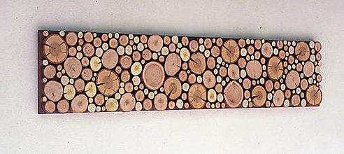 Dekorácie - Závesný drevený obraz - 9645570_
