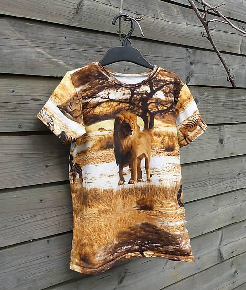 Tričko - Safari
