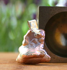 Náhrdelníky - Perlový prívesok s morskou hviezdicou - 9647071_