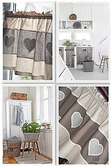 Úžitkový textil - Originálne záclonky - 9645443_