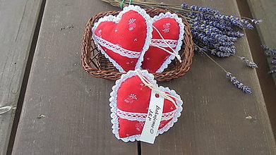 Darčeky pre svadobčanov - Svadobné srdiečko-folk - 9646867_