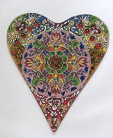 Obrazy - srdce pre rodnú zem - 9645684_