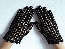 Rukavice - Háčkované rukavičky - 9648835_