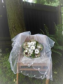 Dekorácie - dekorácia na svadbu: Kvetinka - 9651004_