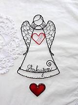 Dekorácie - anjelik