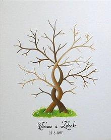 Obrazy - Wedding tree IX - svadobný strom - 9649212_