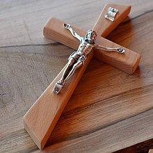 Dekorácie - Svadobný kríž s korpusom - 9649070_