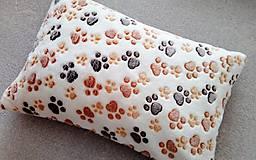 Pre zvieratká - pelech-poduška pre mačičku alebo psíka - 9650011_