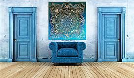 """Obrazy - """"MANDALA ŠŤASTIA a HARMÓNIE """" harmonizačný obraz s energiou feng shui - 9650646_"""
