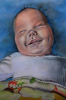 Kresby - Bábatko-portrét - 9649775_