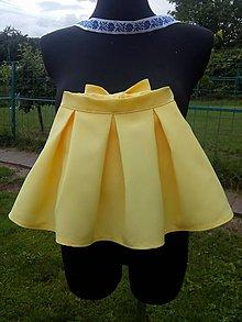 6575175de3ed Detské oblečenie - Detská skladaná suknička (110-134) - 9649490