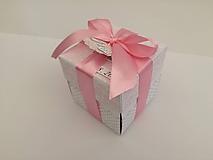 Papiernictvo - Krabička na peniaze Obláčik - 9651185_