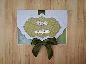 Papiernictvo - Obálka na svadbu - 9651076_