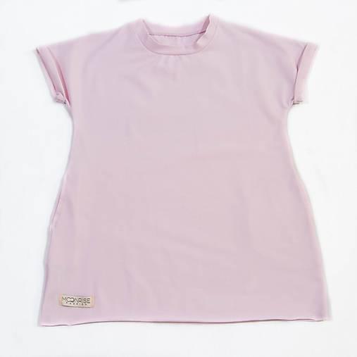 3637242d8676 Detské šaty oversize - light pink   MoonriseFashion - SAShE.sk ...