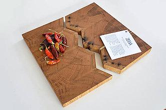 Pomôcky - ZEWA /Servírovací set z dubového dreva/ - 9650131_