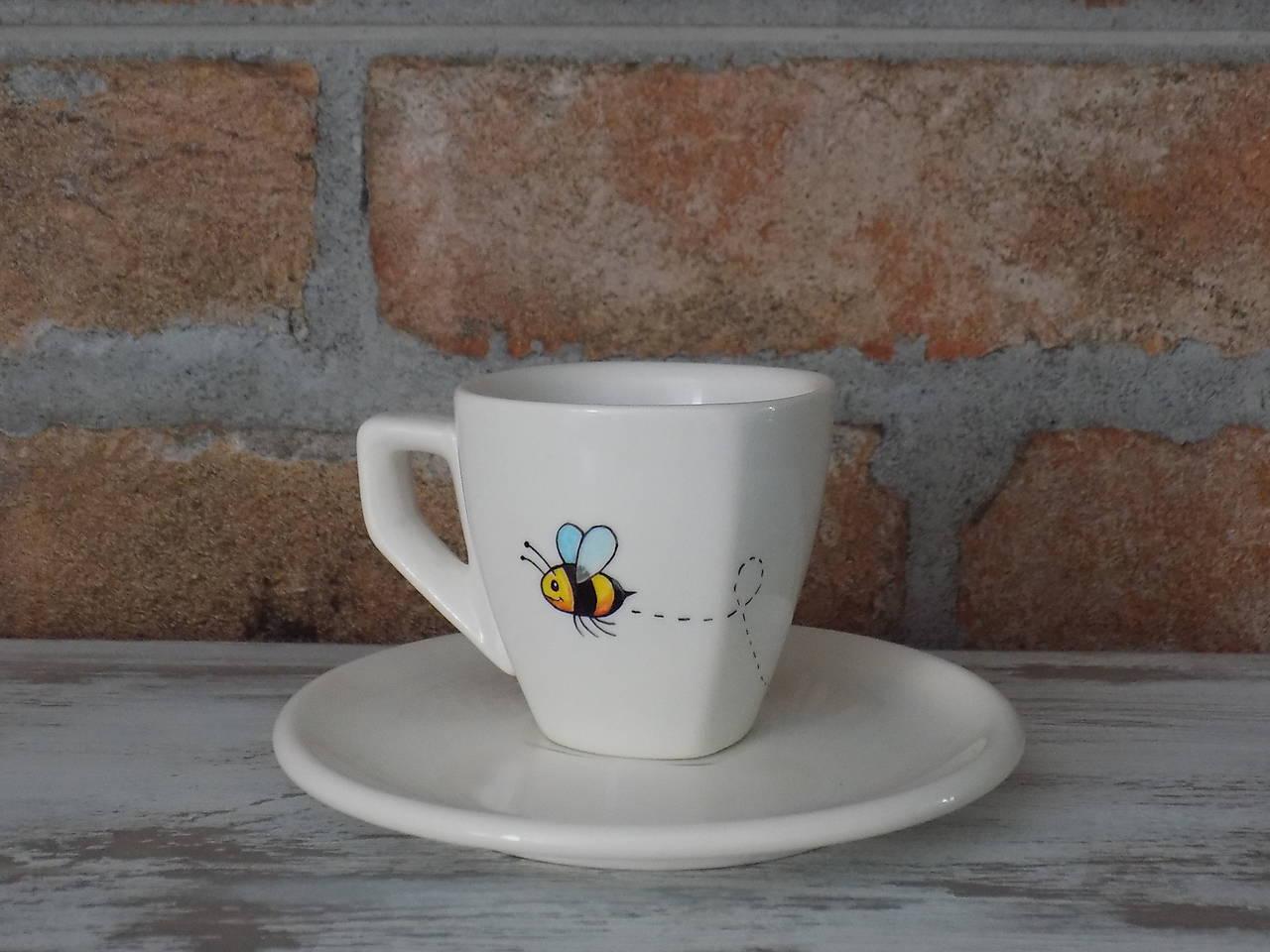 Ristretto šálka - Včielka
