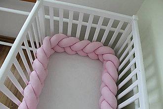 Úžitkový textil - Zapletaný vankúš, rôzne farby a dĺžky (320 cm) - 9651492_