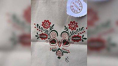 Iné tašky - ♥ Plátená, ručne maľovaná taška ♥  (R5) - 9649846_