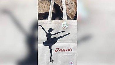 Iné tašky - ♥ Plátená, ručne maľovaná taška ♥ (JL4) - 9649942_