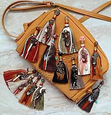 Náušnice - Indiánske boho nausnicky - 9648889_