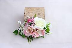Odznaky/Brošne - Brošňa kvetinová - 9650263_