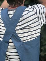 Iné oblečenie - Pánska ľanová zástera - 9650167_