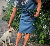 Iné oblečenie - Pánska ľanová zástera - 9650168_