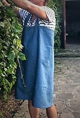 Iné oblečenie - Pánska ľanová zástera - 9650169_