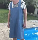 Iné oblečenie - Pánska ľanová zástera - 9650170_