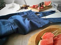 Iné oblečenie - Pánska ľanová zástera - 9650242_