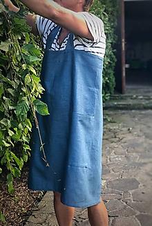 Iné oblečenie - Pánska ľanová zástera (Hnedá) - 9650169_