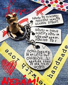 Kľúčenky - NaMIXUJ si prívesok 3 MIX / 15€ - 9653865_