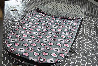 Textil - Jarná/jesenná fusakodeka s minky - 9651857_
