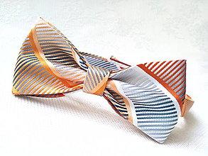 Doplnky - Pánsky motýlik Retro gentleman - 9652233_