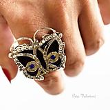Prstene - Motýľ - 9653863_