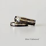 Prstene - tepané svadobné obrúčky - 9654211_